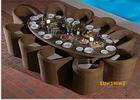 Set de jantar Rattan