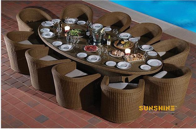 Juego rat n de comedor fco 2065 muebles de rat n moderno for Juego de muebles para terraza