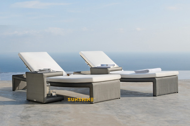 Rattan tumbona de playa fco 2030 muebles de rat n for Muebles para playa y jardin