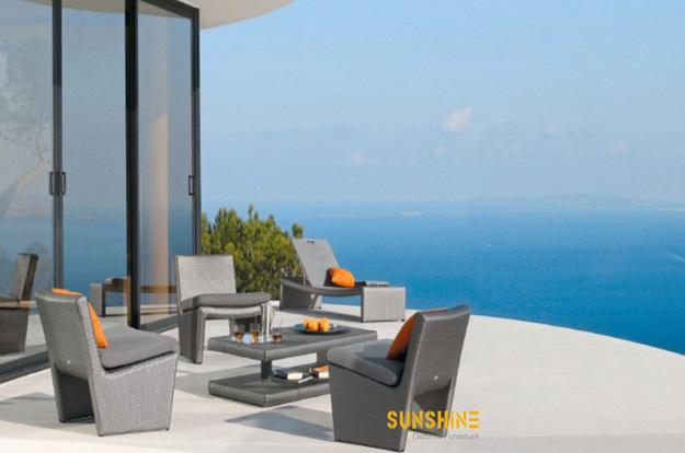 Asiento de jardin fco 2031 muebles de rat n moderno for Asientos terraza