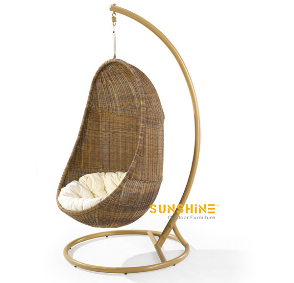 hanging egg chair outdoor furniture modern rattan furniture patio furniture garden furniture. Black Bedroom Furniture Sets. Home Design Ideas