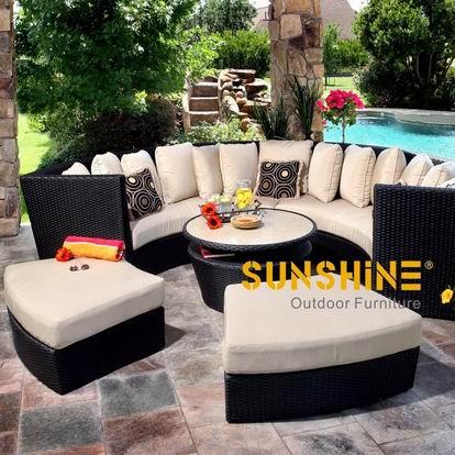Sof de vime jardim fco 063b china exterior e fabricante for Sofa exterior jardim