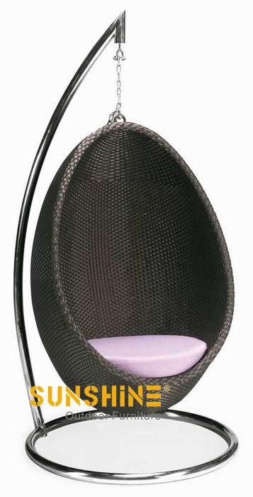 Silla huevo colgando FCO-016 - Muebles de ratán moderno | Muebles de ...